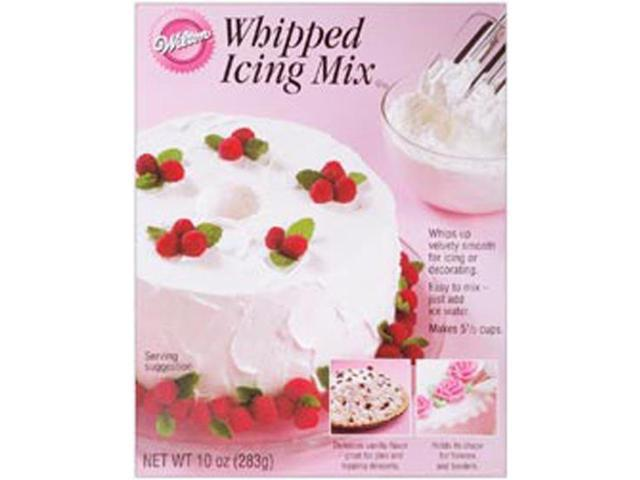 Whipped Icing Mix 10 Ounces-Vanilla