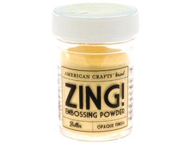 Zing! Opaque Embossing Powder 1 Ounce-Butter