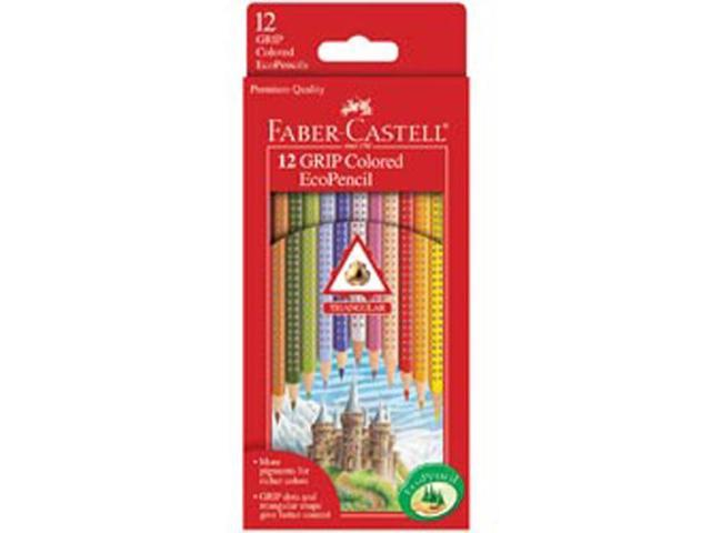 GRIP 12 Colored EcoPencils by Faber Castell USA