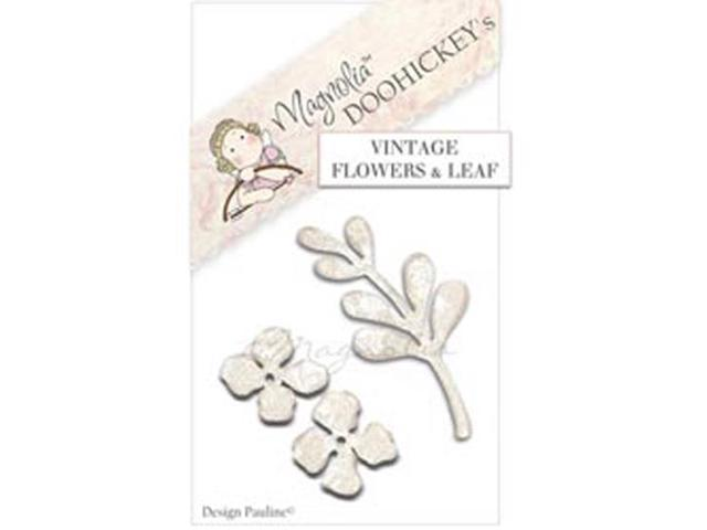Magnolia You Are So Special DooHickeys Dies-Vintage Flower & Leaf