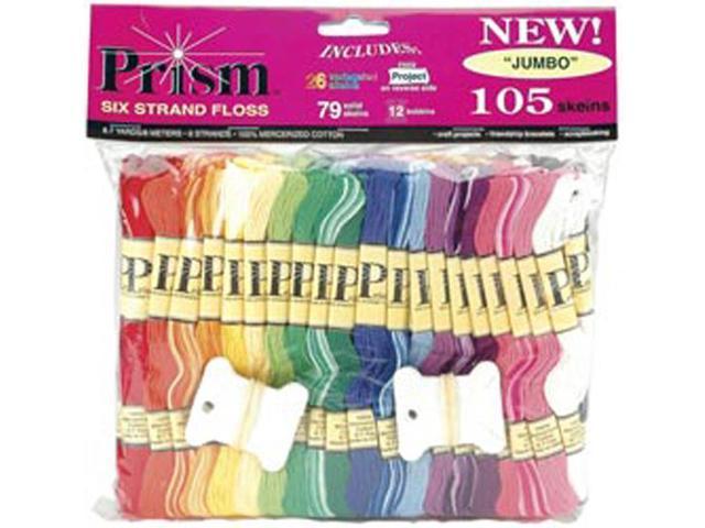Prism Floss Jumbo Pack 8.7 Yards 105/Pkg-
