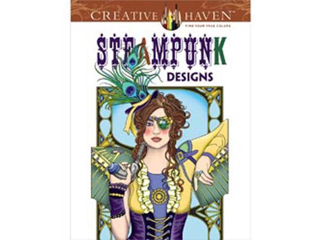 Dover Publications-Creative Haven Steampunk Designs