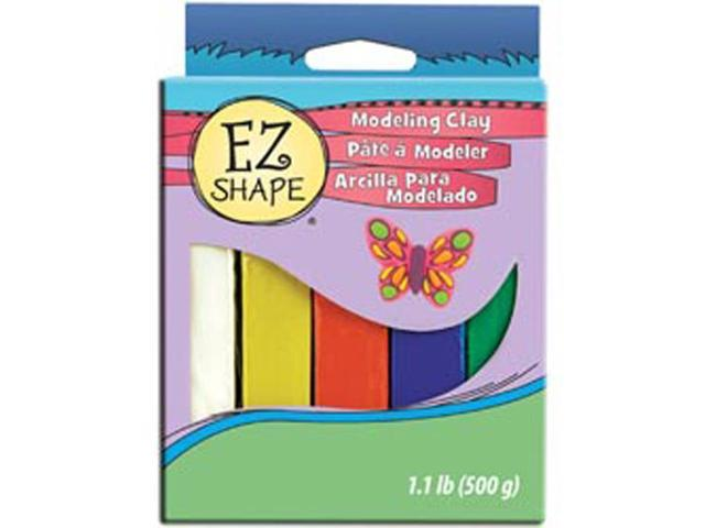Non-Dry Modeling Clay 5 Pieces-Brights