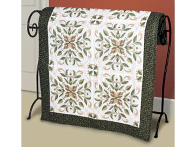 Antique Foliage Quilt Blocks Stamped Cross Stitch-15