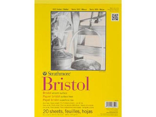 Strathmore Bristol Smooth Paper Pad 9