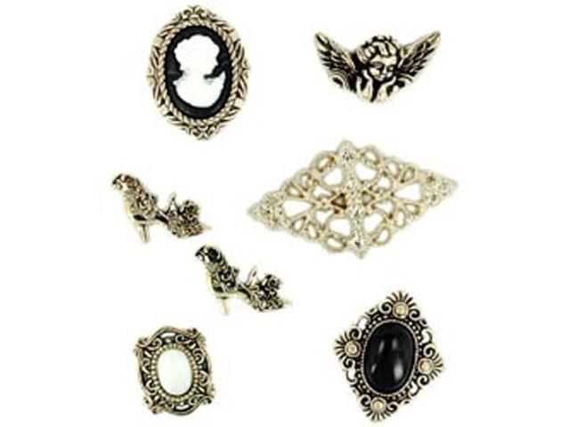 Dress It Up Embellishments-Nostalgic Treasures