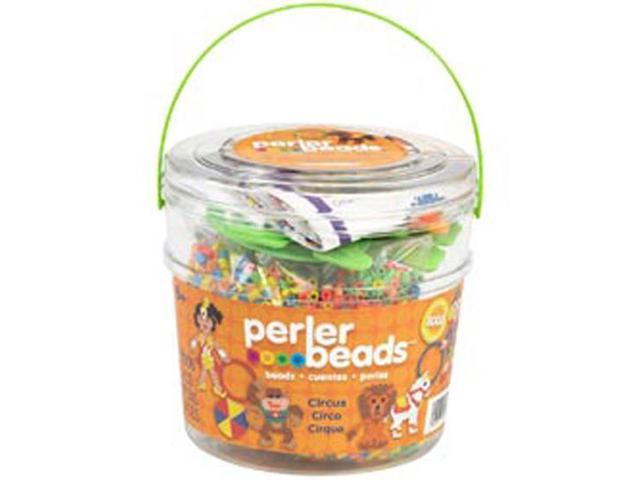 Perler Beads Circus Activity Bucket