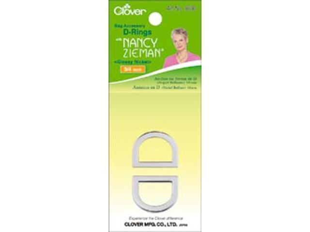 Nancy Zieman's Bag Hardware D-Rings 3/4