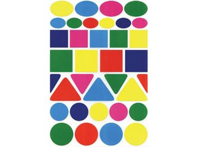 Sticker Forms Self Adhesive Stickers-Geometric Shapes 105/Pkg