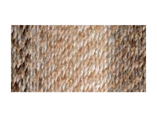 Tweed Stripes Yarn-Caramel
