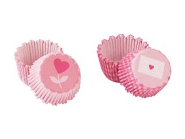 Mini Treat Wrappers 72/Pkg-Heart