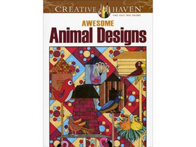 Dover Publications-Awesome Animal Designs