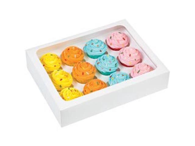 Mini Cupcake Box W/Window 2