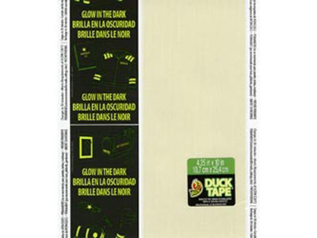 Glow In The Dark Duck Tape Sheets 8.5