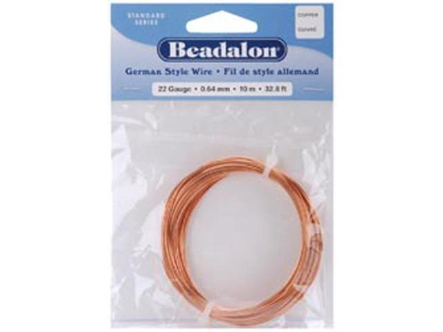 German Style Wire-Copper Round - 26 Gauge, 65.5'
