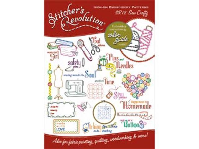 Stitcher's Revolution Iron-On Transfers-Sew Crafty Inspirations