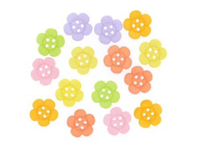 Dress It Up Embellishments-Sew Cute Sherbert Flowers