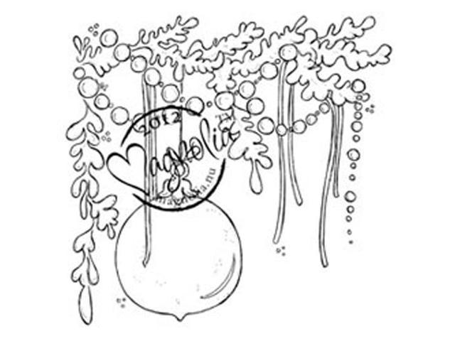 A Christmas Story Cling Stamp-Jingle Jangle Tangle