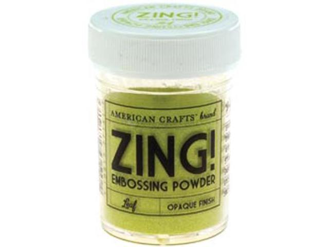 Zing! Opaque Embossing Powder 1 Ounce-Leaf