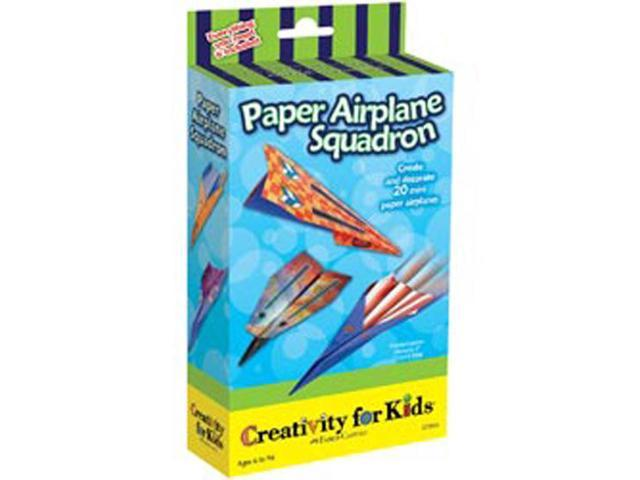Creativity For Kids Activity Kits-Paper Airplane Squadron (makes 20)