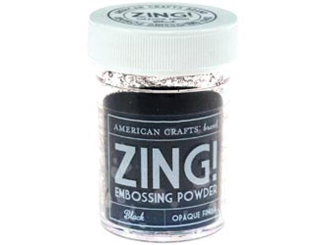 Zing! Opaque Embossing Powder 1 Ounce-Black