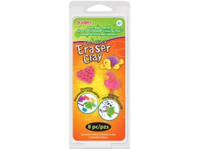 Sculpey Kit 1 Ounce 6/Pkg-Amazing Eraser Clay