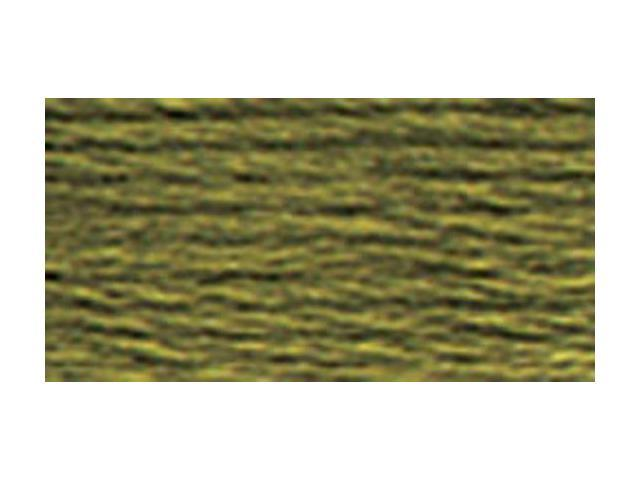 DMC Pearl Cotton Skeins Size 3 - 16.4 Yards-Dark Khaki Green