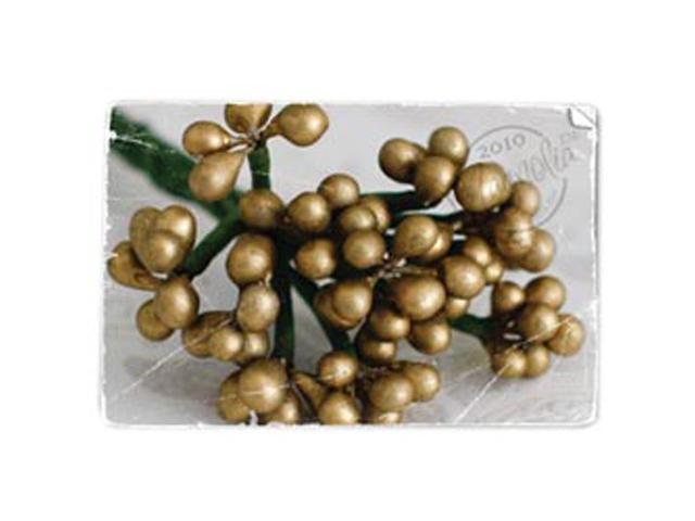 Berries Stem-Gold