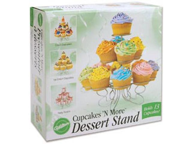 Cupcakes 'N More Small Dessert Stand-Holds 13 Cupcakes 10