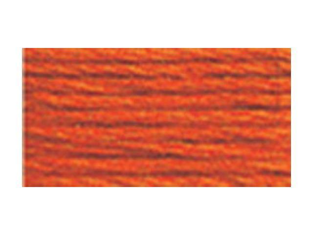 DMC Pearl Cotton Skeins Size 3 - 16.4 Yards-Medium Burnt Orange