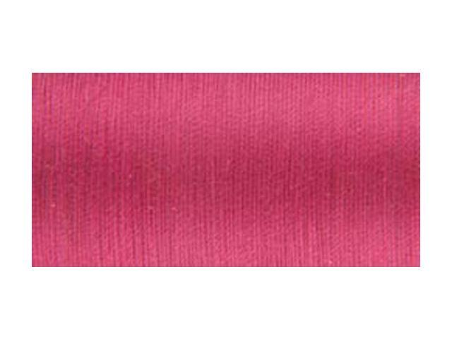 Organic Cotton Thread 300 Yards-Deep Rose