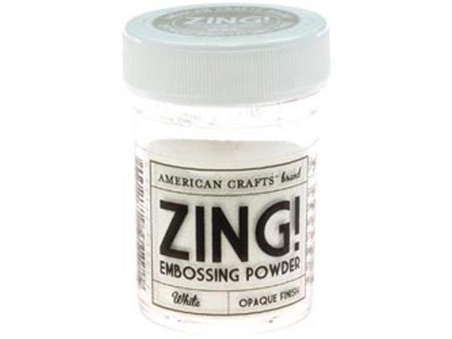 Zing! Opaque Embossing Powder 1 Ounce-White