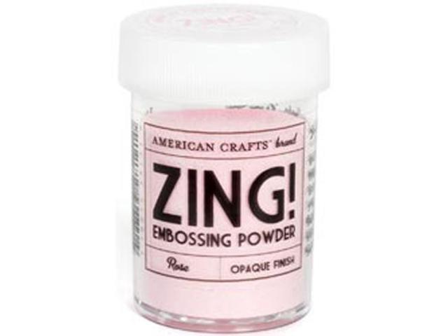 Zing! Opaque Embossing Powder 1 Ounce-Rose