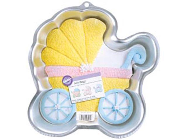 Novelty Cake Pan-Baby Buggy 11.25