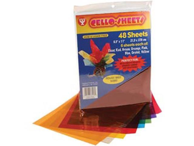 Cello Sheets 8-1/2