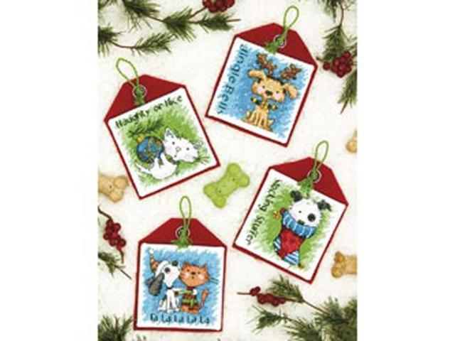 Pet Ornaments Counted Cross Stitch Kit-4-1/2