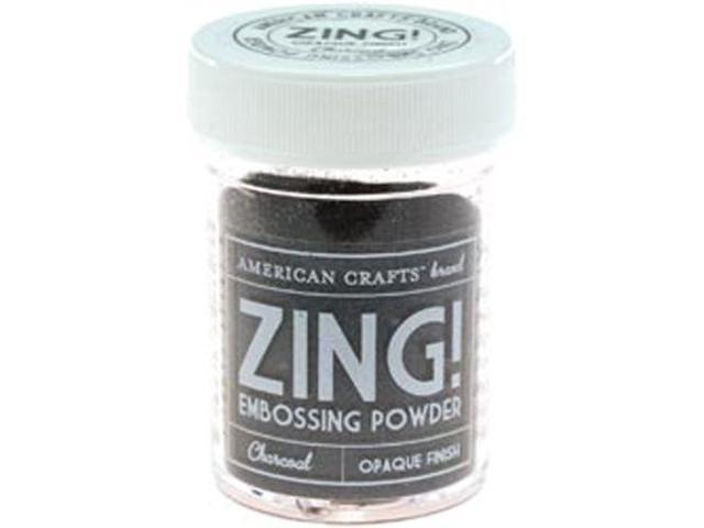 Zing! Opaque Embossing Powder 1 Ounce-Charcoal