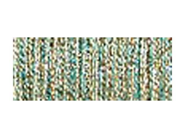 Kreinik Very Fine Metallic Braid #4 11 Meters (12 Yards)-Elfin Green