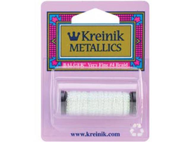Kreinik Very Fine Metallic Braid #4 11 Meters (12 Yards)-Easter