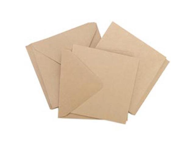 Square Card Pack-Kraft
