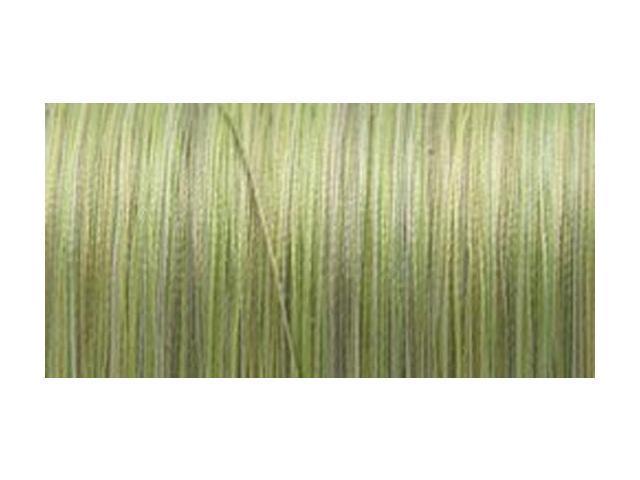 Silk Variegated Thread 200 Meters-Variegated Greens