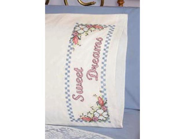 Stamped Perle Edge Pillowcase 30