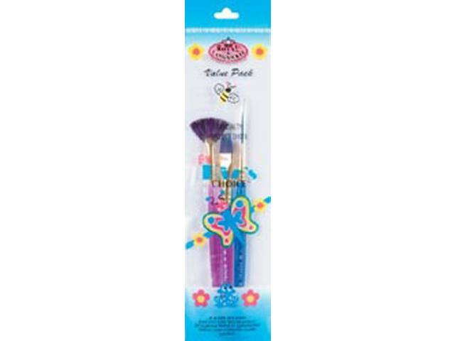 Big Kids Choice Specialty Brush Set-3/Pkg