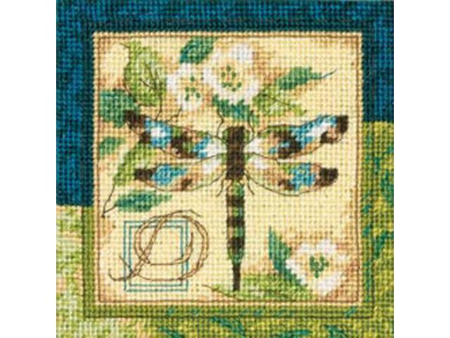 Dragonfly Mini Needlepoint Kit-5