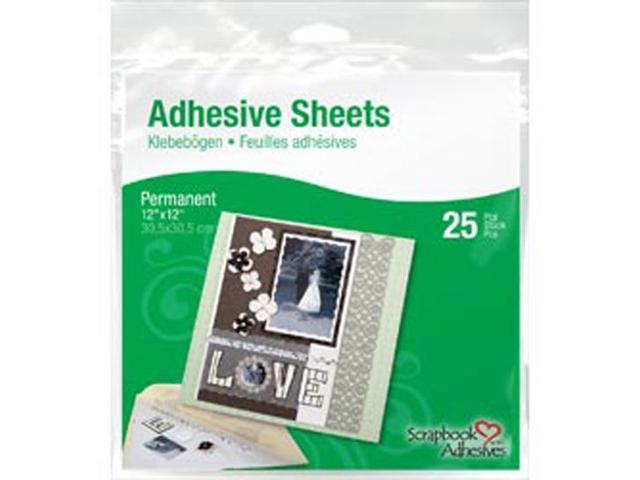 Permanent Adhesive Sheets 12