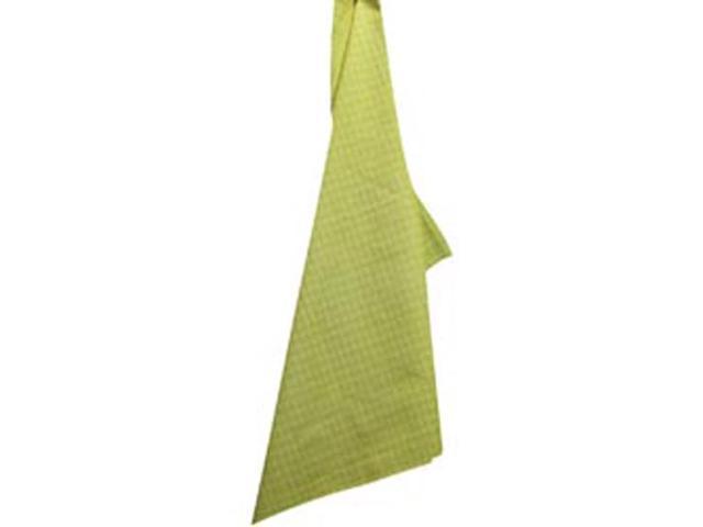 Cream Windowpane Plain Weave Towel-Dijon