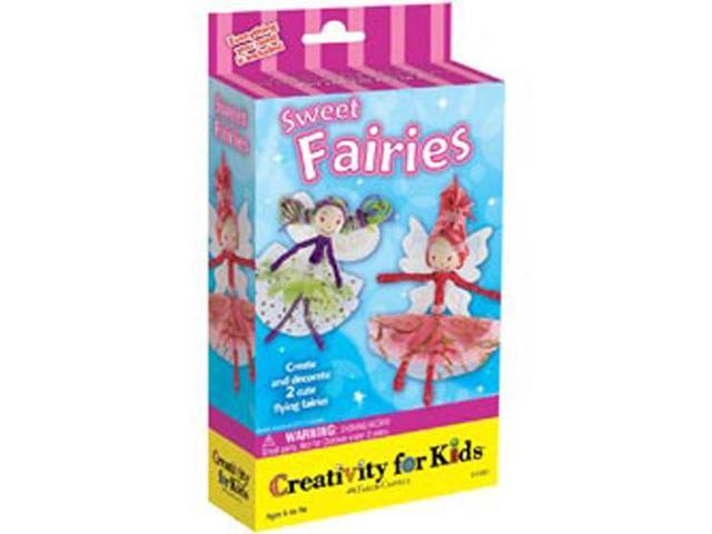 Creativity For Kids Activity Kits-Sweet Fairies (makes 2)