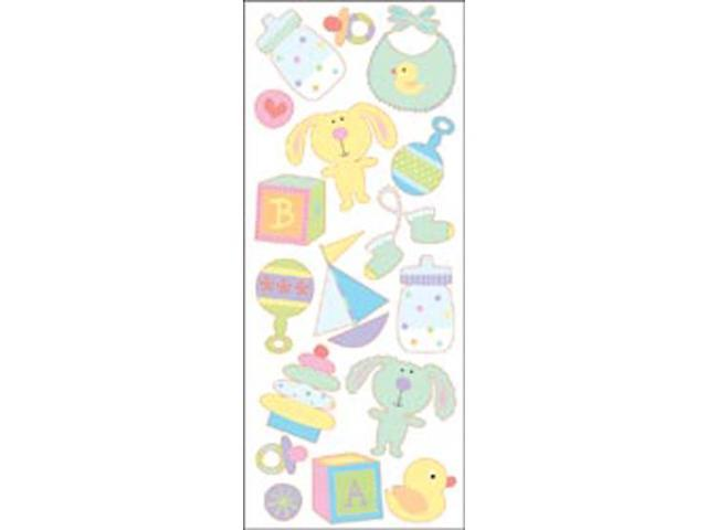 Puffy Classic Stickers-Baby Toys