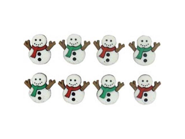 Dress It Up Holiday Embellishments-Cute Snowmen