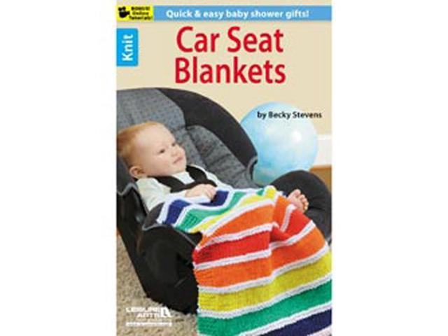 Leisure Arts-Knit Car Seat Blankets